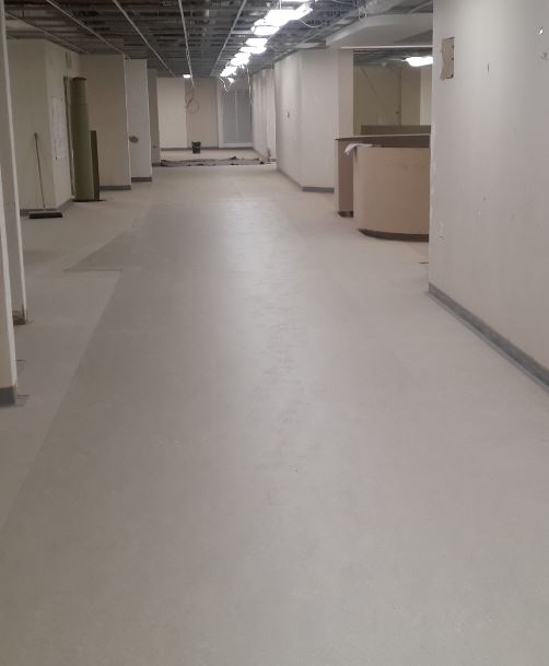 abe self levelling screeed and epoxy build up system for hospitals Jnl 5 16