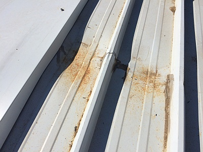 Best practice in storing and installing metal roofing SAFINTRA