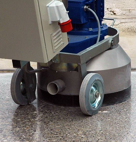Diamond Products equipment for polished concrete Jnl 6 16