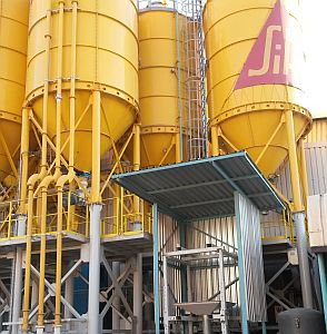 Chemical plant quality certified SIKA