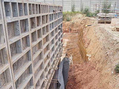 Drainage solved at underground basement KAYTECH