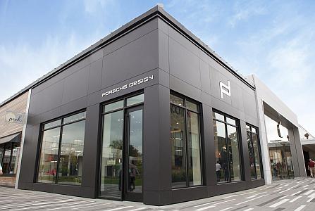 Facade sets porsche boutique apart COSENTINO DEKTON