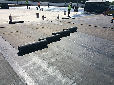 Waterproofing not just black stuff