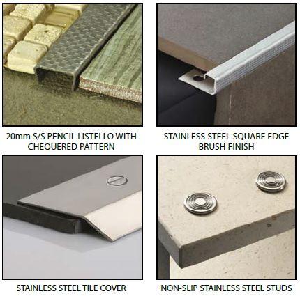 Kirk stainless steel profiles Jnl 7 16