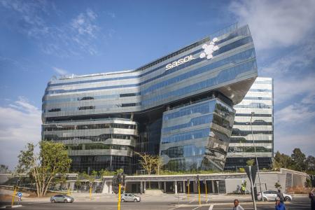 Sealing the glass facade Sasol Corporate FG trading