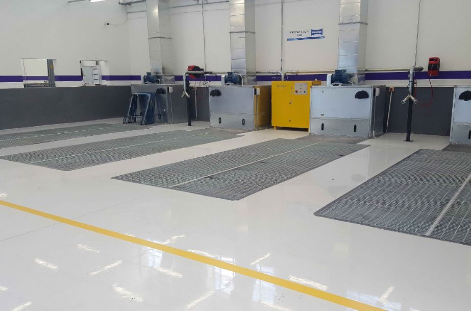 Epoxy Floor Coatings Ideal For High Vehicle Traffic