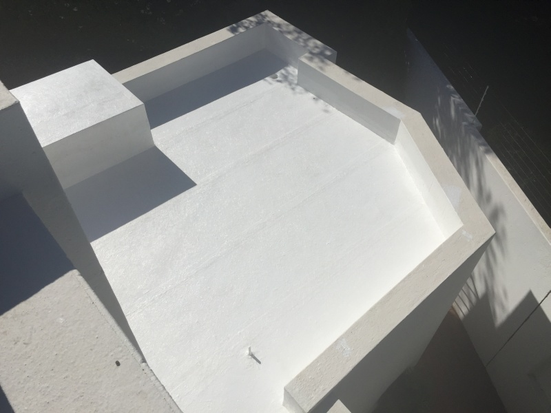 2 Flat Concrete Roofs Innovatively Waterproofed Building
