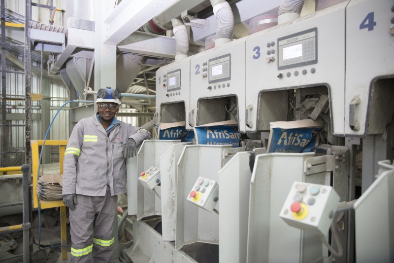 First Cement Plant Opens In Lesotho Building Amp Decor