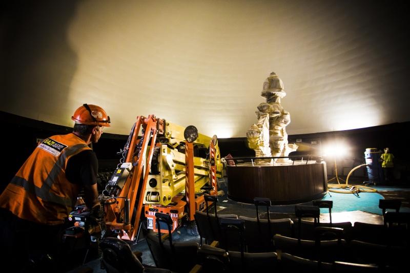Planetarium Dome Brightened Up Building Amp Decor