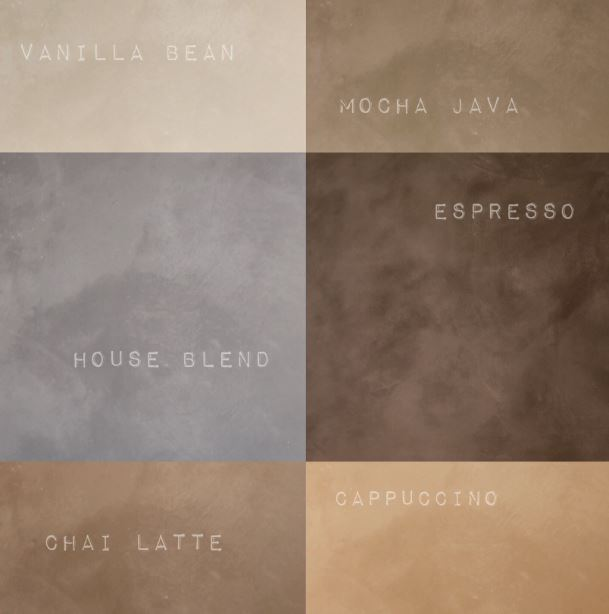 Cemcrete new coffee inspired colours Jnl 5 16