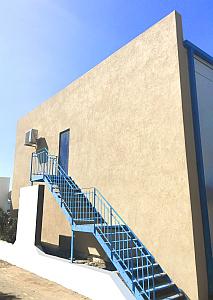 Demo exterior wall insulated RIGIFOAM3