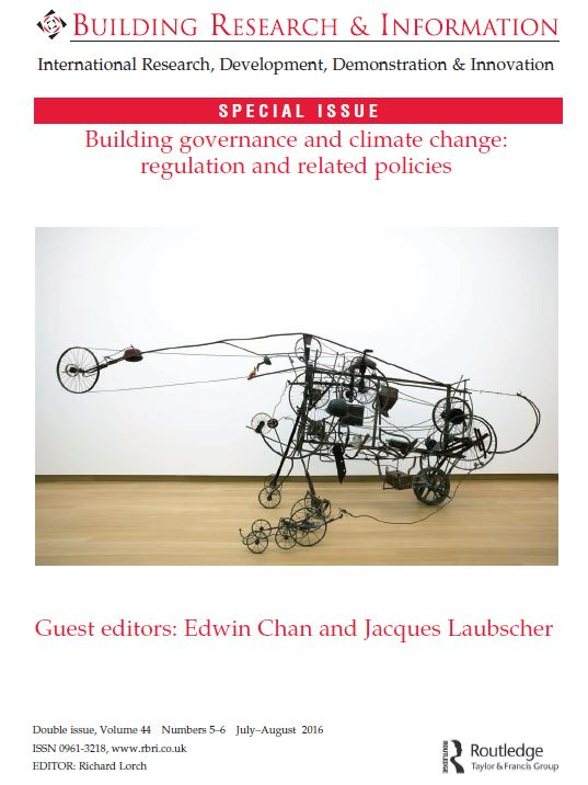 Building Regulations and Climate change Jnl 5 16