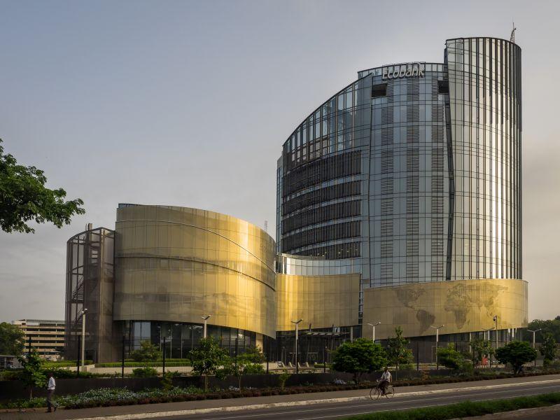 A New Head Office For Ecobank Ghana Building Decor