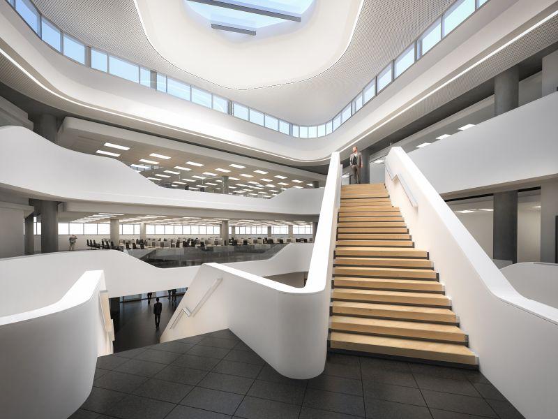 Curvy New Office For Capitec Building Amp Decor