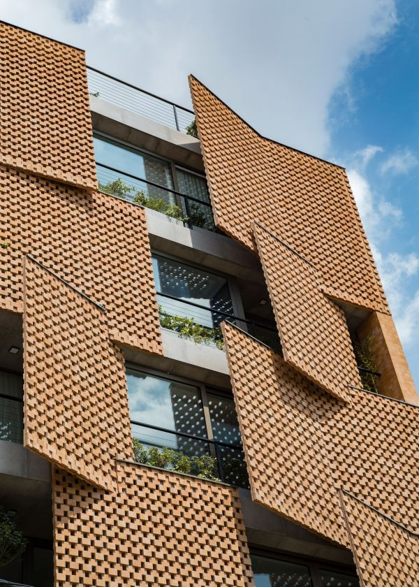 An innovative approach to perforated brick screens ...